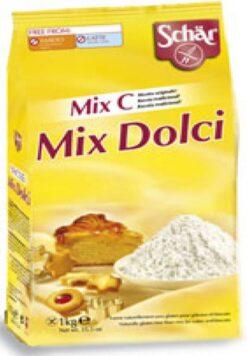 Αλεύρι ζαχαροπλαστικής Mix C Schar Χωρίς Γλουτένη glutenfree κοιλιοκάκη celiacshop.gr