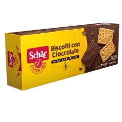 Μπισκότα με επικάλυψη Σοκολάτας Schar Χωρίς Γλουτένη glutenfree κοιλιοκάκη celiacshop.gr