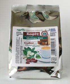 Ελληνικός καφές με φυσική Μαστίχα. Οικονομική συσκευασία 400g