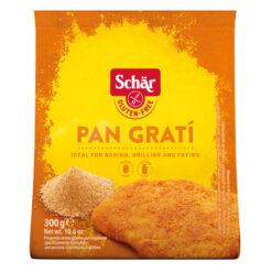 Τριμμένη Φρυγανιά Pan Grati Schar Χωρίς Γλουτένη Glutenfree κοιλιοκάκη Celiacshop.gr