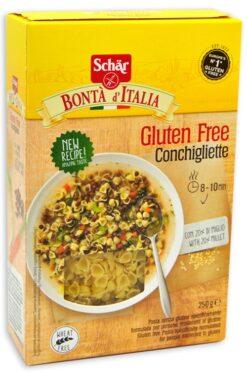 Κοχυλάκια για σούπα Conchigliette Schar Χωρίς Γλουτένη glutenfree κοιλιοκάκη celiacshop.gr
