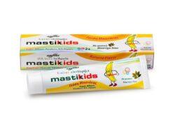 Παιδική οδοντόκρεμα Mastic kids με μαστίχα & μπανάνα glutenfree κοιλιοκάκη celiacshop.gr