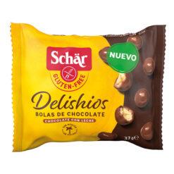 Σοκολατάκια Delishios Schar Χωρίς Γλουτένη glutenfree κοιλιοκάκη celiacshop.gr