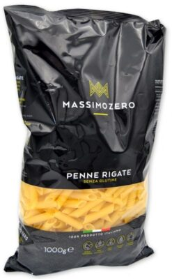Πέννες (Οικονομική Συσκευασία 1000 gr) Massimo Zero Χωρίς Γλουτένη glutenfree κοιλιοκάκη celiacshop.gr