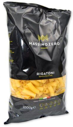 Ριγγατόνι (Οικονομική Συσκευασία 1000 gr ) Massimo Zero Χωρίς Γλουτένη glutenfree κοιλιοκάκη celiacshop.gr