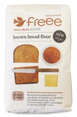 Doves Μείγμα Αλεύρων για Ψωμί Ολικής Χωρίς Γλουτένη glutenfree κοιλιοκάκη celiacshop.gr