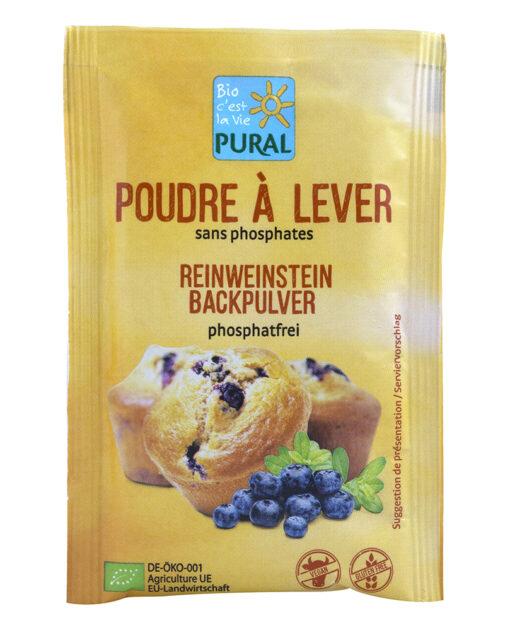 Baking Powder Pural Χωρίς Γλουτένη glutenfree κοιλιοκάκη celiacshop.gr