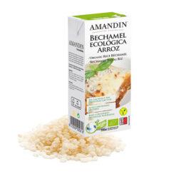 Amandin Μπεσαμέλ Ρυζιού Χωρίς Γλουτένη glutenfree κοιλιοκάκη celiacshop.gr