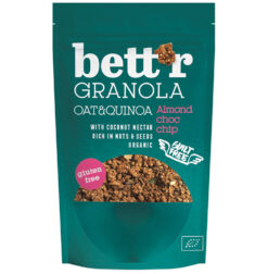 Bett'r Γκρανόλα με Αμύγδαλο & Τσιπς Σοκολάτας Χωρίς Γλουτένη glutenfree κοιλιοκάκη celiacshop.gr