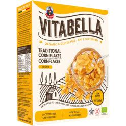 Vitabella Νιφάδες Καλαμποκιού Χωρίς Γλουτένη glutenfree κοιλιοκάκη celiacshop.gr