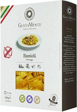 Ραβιόλι γεμιστά τυρί χωρίς γλουτένη Gustament Celiacshop.gr κοιλιοκάκη