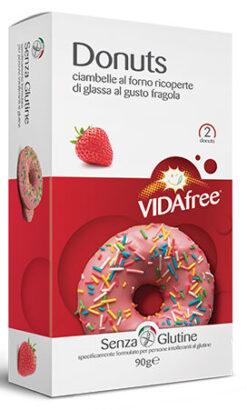 Vida Free Ντονατς Φράουλα Χωρίς Γλουτένη glutenfree κοιλιοκάκη celiacshop.gr