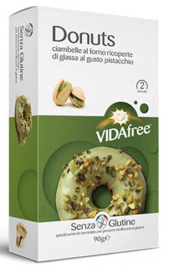 Vida Free Ντόνατς Φυστίκι Χωρίς Γλουτένη glutenfree κοιλιοκάκη celiacshop.gr