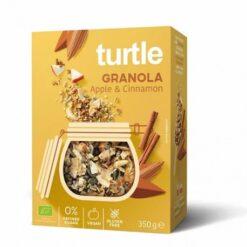 Turtle Γκρανόλα με Μήλο & Κανέλα Χωρίς Γλουτένη glutenfree κοιλιοκάκη celiacshop.gr