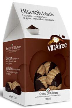Vida Free Μπισκότα Βουτύρου σε Μαύρη Σοκολατα Χωρίς Γλουτένη glutenfree κοιλιοκάκη celiacshop.gr