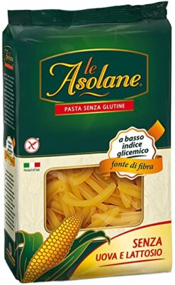 Στριφτάρια Casarecce Le Asolane Molino Di Ferro Χωρίς Γλουτένη glutenfree κοιλιοκάκη celiacshop.gr