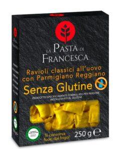 Ραβιόλι με ζαμπόν & παρμεζάνα χωρίς γλουτένη La Pasta Di Francesca Www.celiacshop.gr
