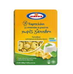 Τορτελόνι με Σπανάκι & Ρικότα Ήλιος Χωρίς Γλουτένη Celiacshop.gr