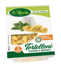 Τορτελίνι γεμιστά με τυρί Ρικότα & Σπανάκι La Nova Χωρίς Γλουτένη Celiacshop.gr