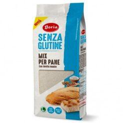Μείγμα για λευκό ψωμί Doria Χωρίς γλουτένη Www.celiacshop.gr